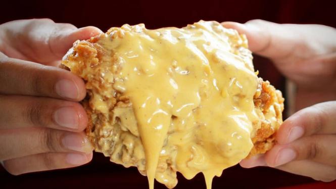 Salted Egg Chicken KFC.