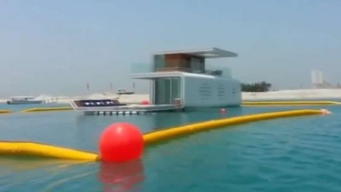 Vila Apung (Floating Seahorse) di Dubai