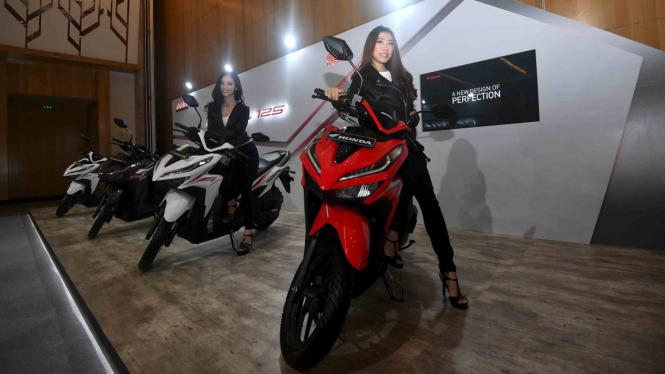 Sepeda motor All New Honda Vario 125
