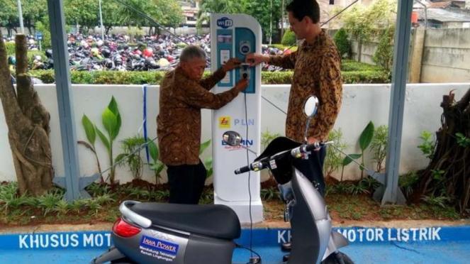 SPLU di salah satu wilayah di Indonesia.