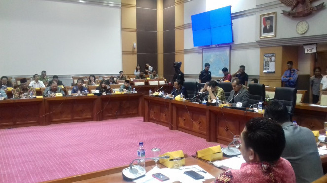 RDPU Komisi I dengan Facebook Indonesia