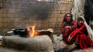 Suku terpencil di Afghanistan.