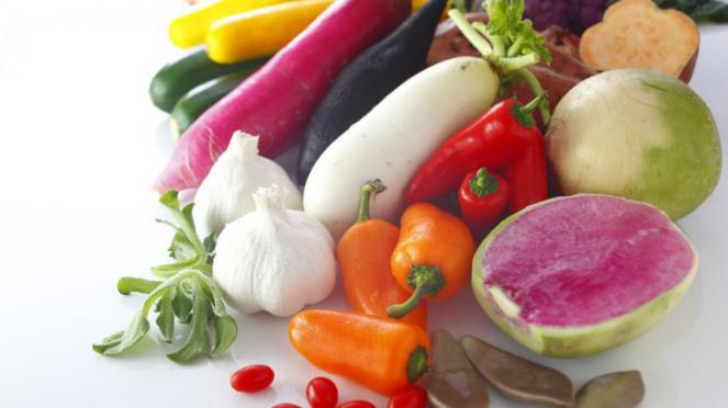 Ilustrasi memasak sayuran.