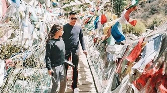 Nikita Willy di Bhutan