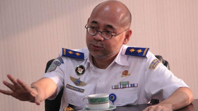 Kepala Badan Pengelola Transportasi Jabodetabek (BPTJ) Bambang Prihartono.