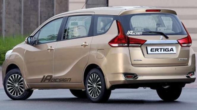 Rendering Suzuki Ertiga terbaru.
