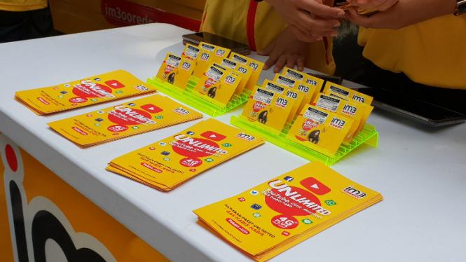 Kartu perdana Indosat Ooredoo.