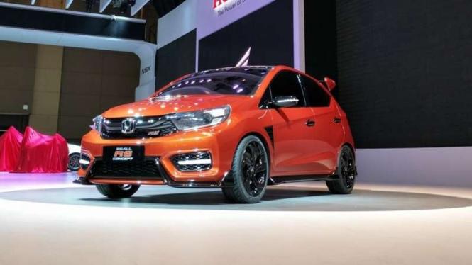 Honda Small RS Concept diperkenalkan di IIMS 2018.