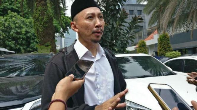 Ketua Cyber Indonesia Permadi Arya alias Abu Janda.