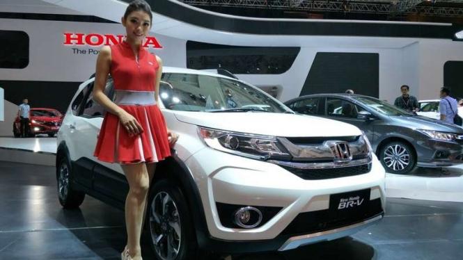 Honda BR-V terbaru meluncur di IIMS 2018.