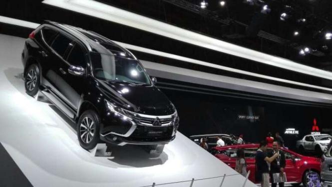 Booth Mitsubishi di IIMS 2018