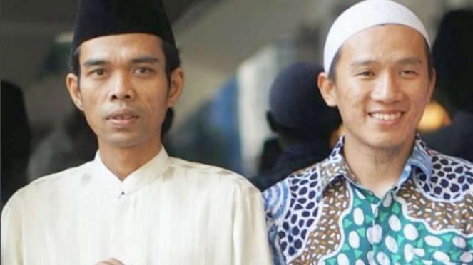 Ustaz Abdul Somad dan Ustaz Felix Siauw.