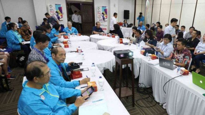 Delegasi China Taipei di Asian Games 2018.