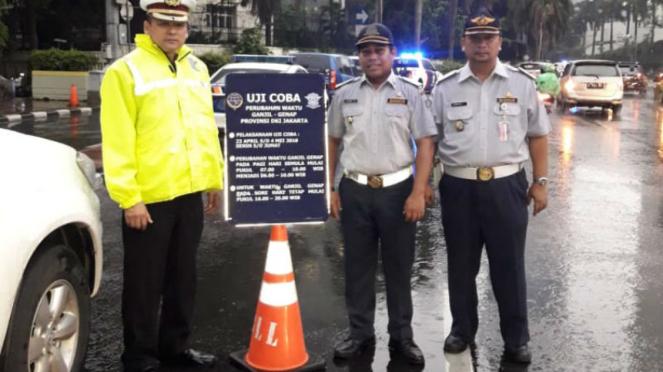 Jam operasional ganjil genap di Sudirman-Thamrin dimajukan