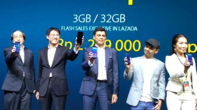 Peluncuran 3 Smartphone Asus Zenfone.