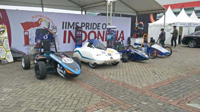 Mobil-mobil listrik di IIMS 2018
