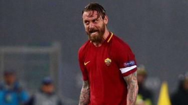 Gelandang AS Roma, Daniele De Rossi.