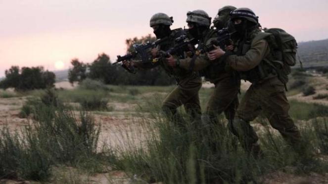 Pasukan Khusus Israel Sayeret Matkal.