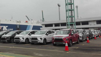 Ekspor Mitsubishi Xpander.
