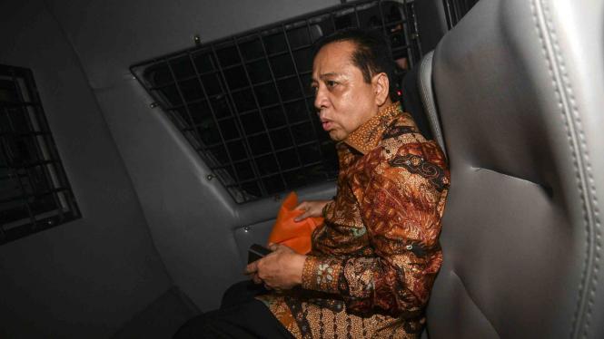 Terdakwa kasus korupsi KTP Elektronik, Setya Novanto