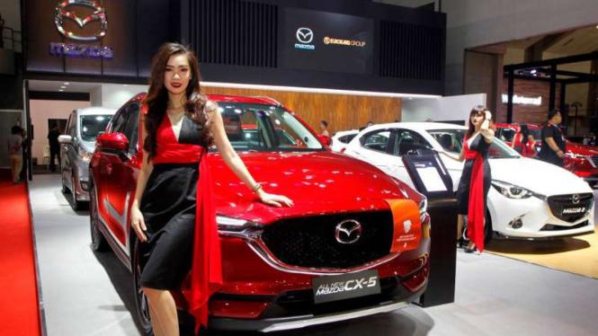 Stan Mazda di IIMS 2018