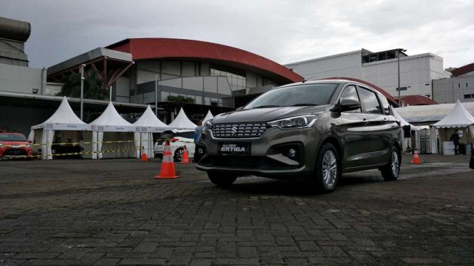 Test drive Suzuki All new Ertiga di IIMS 2018.