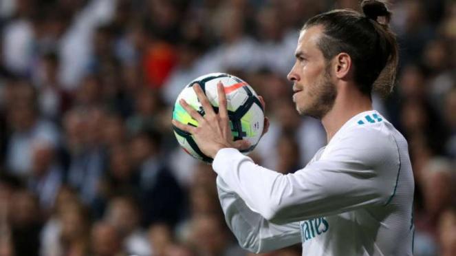 Winger Real Madrid, Gareth Bale.