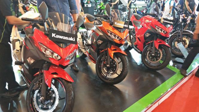 Kawasaki Ninja di IIMS 2018