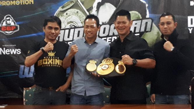Daud Yordan merebut gelar juara kelas ringan WBA Asia dan Intercontinental
