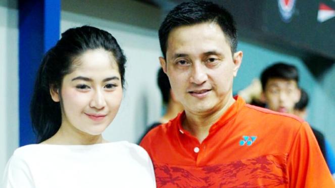 Legenda ganda putra Ricky Soebagja bersama Khairunissa Andjani