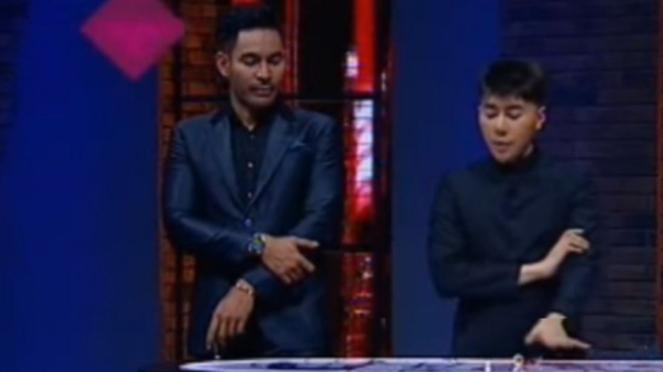 Roy Kiyoshi dan di acara Karma ANTV
