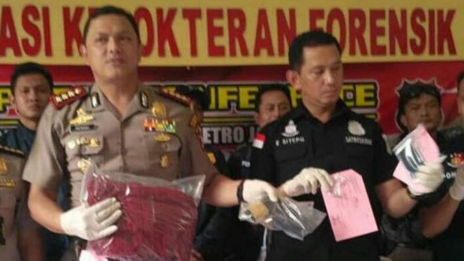 Kapolres Metro Jakarta Barat Komisaris Besar Polisi Hengki Haryadi