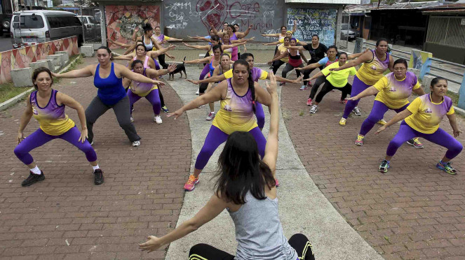 Sorot Sedentary - Penderita sedentari - obesitas - gerakan aksi sedentari