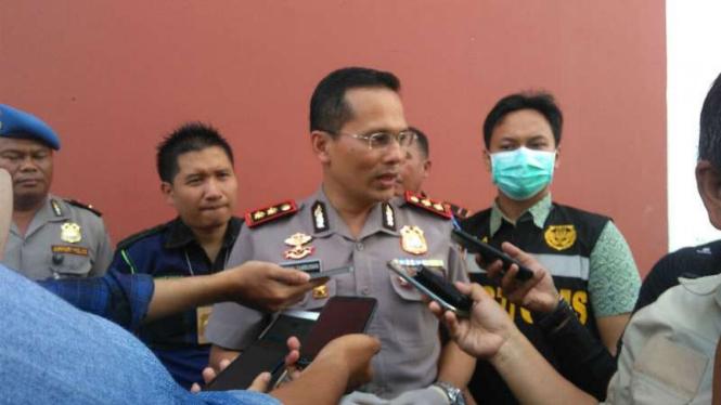 Kapolres Bandara Soekarno Hatta Ajun Komisaris Besar Polisi Victor Togi Tambunan