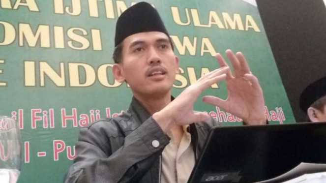 Sekertaris Komisi Fatwa MUI, Asrorun Ni'am Sholeh.