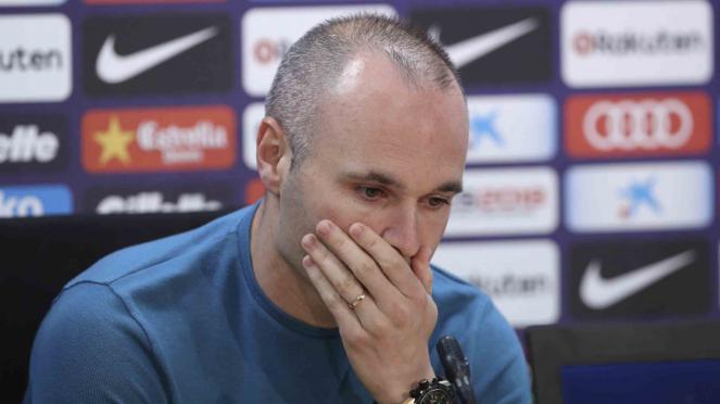 Perpisahan Andres Iniesta dari FC Barcelona