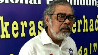 Ketua Umum Komisi Nasional Perlindungan Anak Arist Merdeka Sirait
