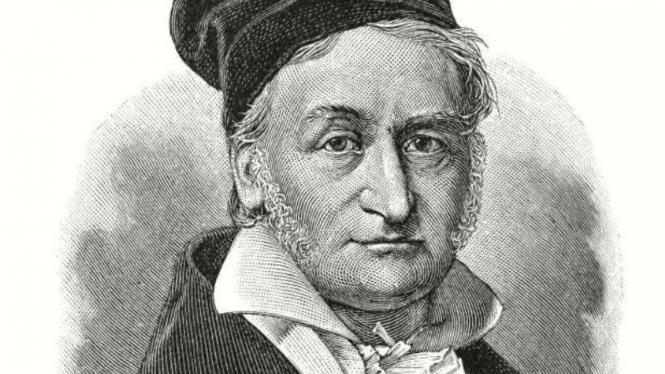 Johann Carl Friedrich Gauss.