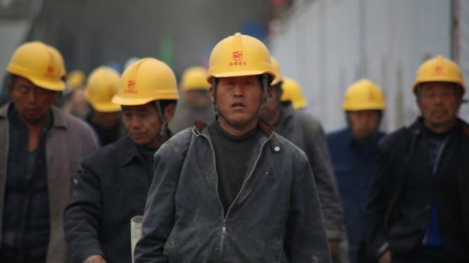 Pekerja China.