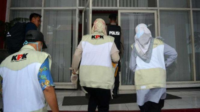 Penyidik KPK. (Foto ilustrasi).
