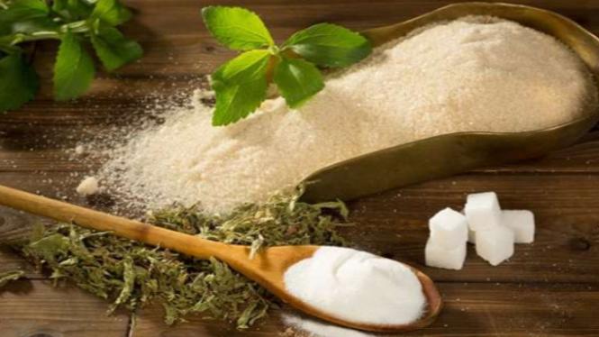 Stevia pengganti gula rafinasi.