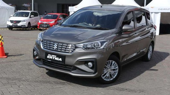 Test drive Suzuki All new Ertiga di IIMS 2018.