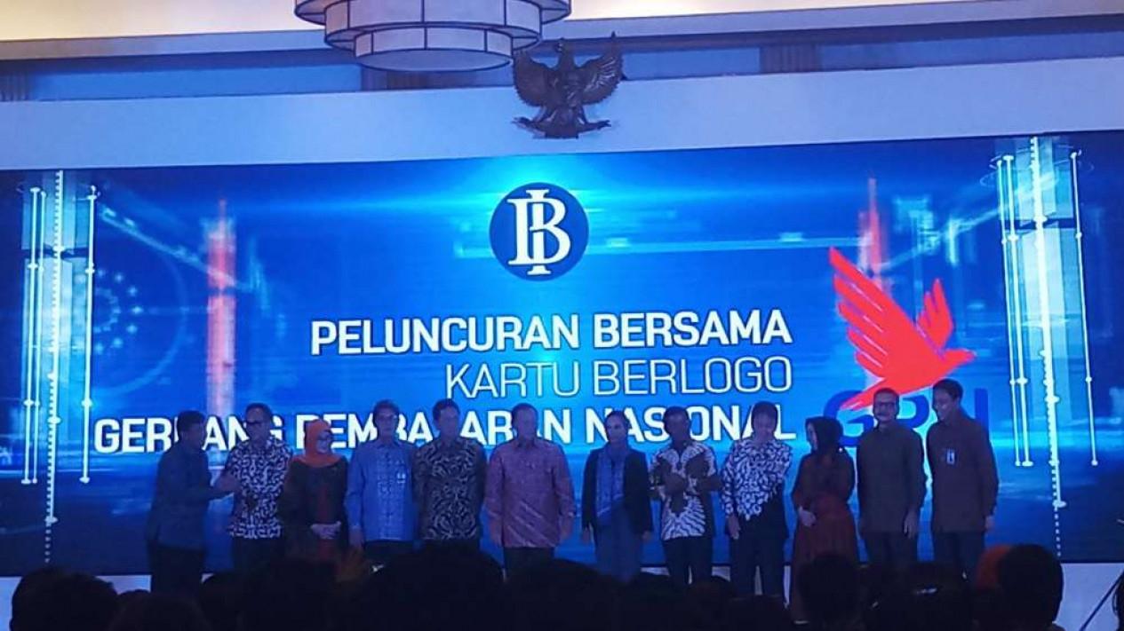 Bank Indonesia luncurkan bersama kartu debet berlogo GPN.