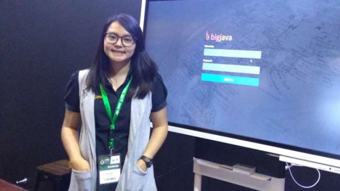 Scientist Manager Big Java, Winda Miranti.