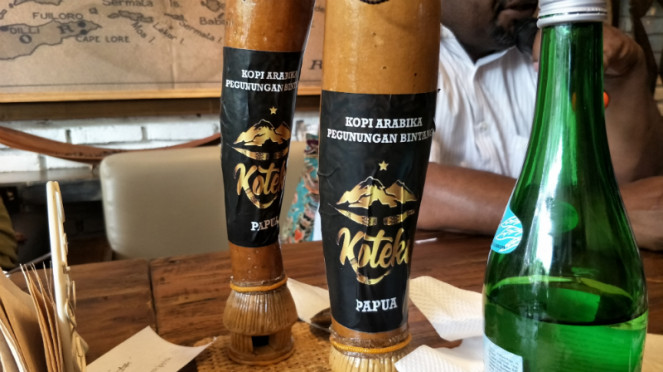 Koteka, kopi koteka asal Oksibil, Papua.