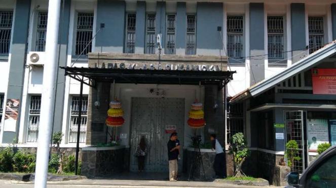 Lembaga Pemasyarakatan atau Lapas Sukamiskin di Bandung, Jawa Barat.