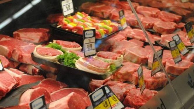 Ilustrasi daging babi