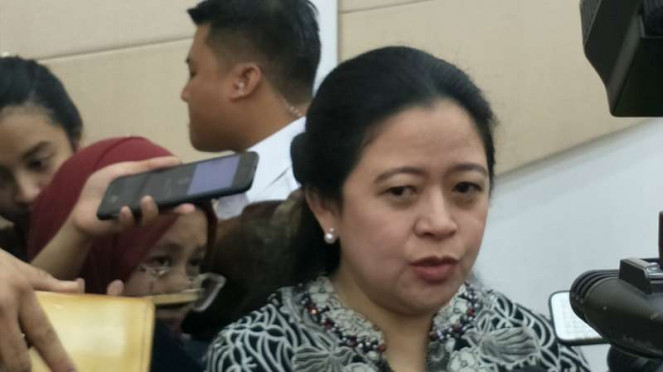 Menteri Koordinator PMK Puan Maharani.