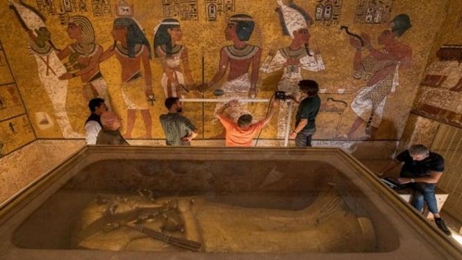 Makam Tutankhamun.