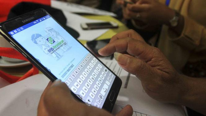 Aplikasi mobile Jaminan Kesehatan Nasional (JKN)